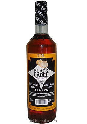 Kapruka Sri Lanka - IDL - Black Label - 750ml