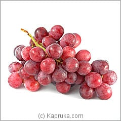 500g Of Red Grapes Online at Kapruka | Product# fruits00112
