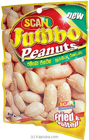 Scan Jumbo Peanuts - 90g Online at Kapruka | Product# grocery00165