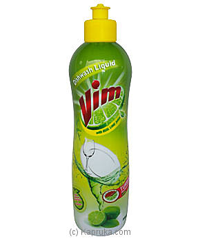 Bottle Of Vim Dish Wash Liquid-500ml Online at Kapruka | Product# grocery00181