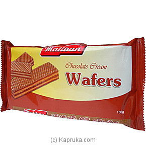 Maliban - Chocolate Cream Wafers-100g Online at Kapruka | Product# grocery00309