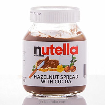 Ferrero Nutella Hazelnut Chocolate Spread Bottle - 180g Online at Kapruka | Product# grocery00308