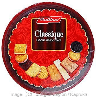 Maliban Biscuit Assortment Tin - 500g Online at Kapruka | Product# grocery00314