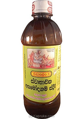 Siddhalepa - Natural Asamodagam Spirit Bottle - 385ml Online at Kapruka | Product# ayurvedic00105