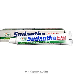 Link Natural - Sudantha Herbal Toothpaste Tube - 80g Online at Kapruka | Product# grocery00318