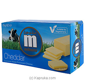 Melbourne Cheddar Cheese - 250g Online at Kapruka | Product# grocery00322
