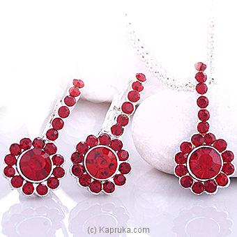 Austrian Crystal Necklace Set-ac 1087 Online at Kapruka | Product# stoneNS0220
