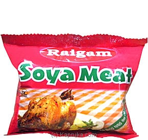 Raigam Soya Meat With Natural Roast Chicken Flavour Pack - 90g Online at Kapruka | Product# grocery00366