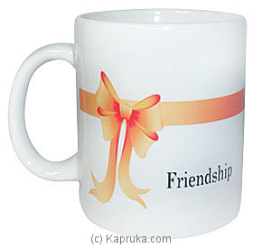 Friendship Mug Online at Kapruka | Product# ornaments00186