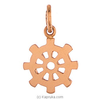 22K Gold Darmachakkara Pendant at Kapruka Online for specialGifts