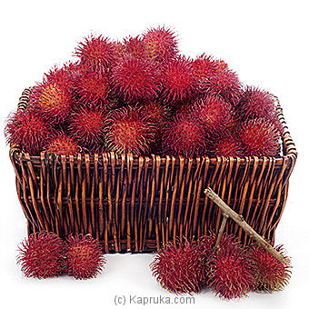50 Rambutan Basket Online at Kapruka | Product# fruits00118