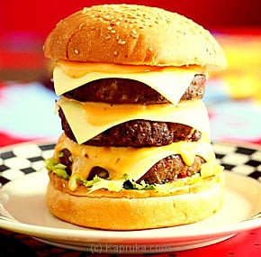 3D Triple Cheese Burger Online at Kapruka | Product# SWF00103