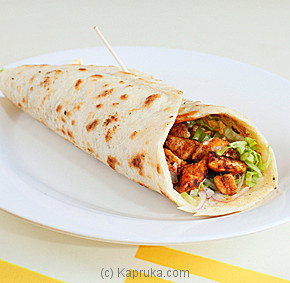 Kapruka Sri Lanka - Chicken Tikka Wrap