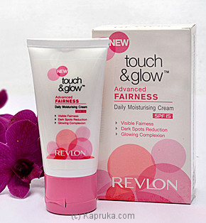 Kapruka Sri Lanka - Revlon Touch & Glow Advanced Fairness Cream (SPF15)