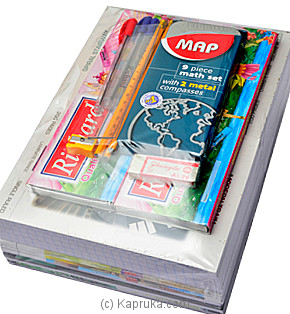 School Stationary Pack - Grade 5 To Grade 8 at Kapruka Online