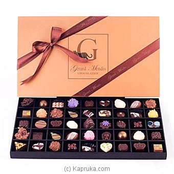 45 Piece Chocolate Box (wooden)(gmc) Online at Kapruka | Product# chocolates00220