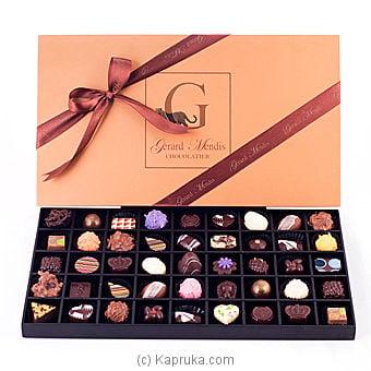 45 Piece Chocolate Box (wooden)(gmc) Online at Kapruka | Product# chocolates00220