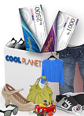 Cool Planet Gift Vouchers Rs 1000 Voucher Online at Kapruka | Product# giftV00Z94_TC1