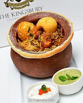 Kingsbury Biriyani Pot Online at Kapruka | Product# homemade00117