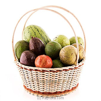 Tropical Fruit Basket Online at Kapruka | Product# fruits00122
