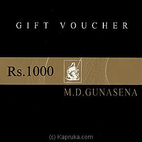 M D Gunasena Gift Voucher Online at Kapruka | Product# giftV00Z99