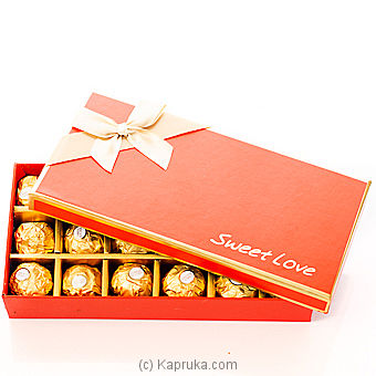 Sweet Love Chocolate Gift Box Online at Kapruka | Product# chocolates00259