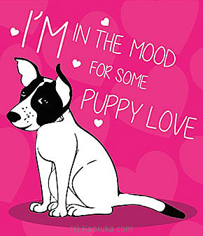 Puppy Love Online at Kapruka | Product# greeting00Z858