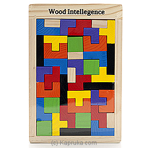 Early Learning Wooden Intelligence Puzzle Online at Kapruka | Product# kidstoy0Z550