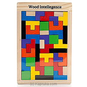 Early Learning Wooden Intelligence Puzzle - Kapruka Product kidstoy0Z550