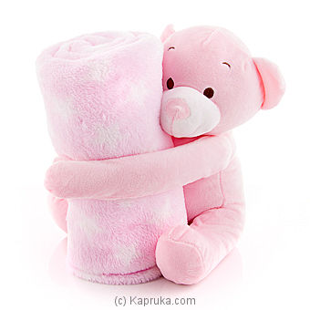 Elfie With baby blanket Pink Online at Kapruka | Product# softtoy00324_TC1