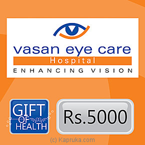 Vasan Eye Care Gift Voucher For Optical Purchases Online at Kapruka | Product# giftV00Z102
