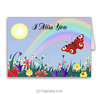 Miss You Card Online at Kapruka | Product# greeting00Z954