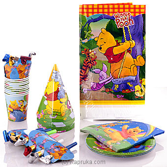 Disney Pooh Bear Party Pack Online at Kapruka   Product# partyP0095