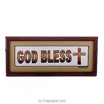 God Bless You Wall Hanging Online at Kapruka   Product# ornaments00338
