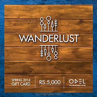 Rs 5000 Odel Gift Voucher - Kapruka Product giftV00Z105