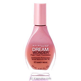 Maybelline New York Dream Wonder Fluid-touch Foundation Online at Kapruka | Product# cosmetics00236