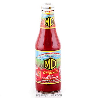 MD Chili Garlic Sauce 400g Online at Kapruka | Product# grocery00448