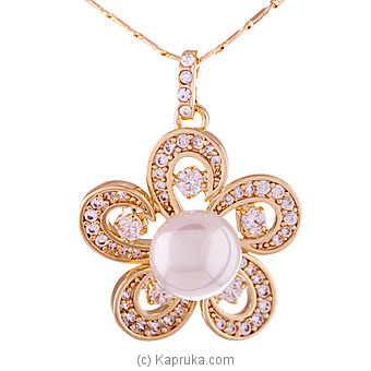 Pearl Pendant With Chain Online at Kapruka | Product# jewllery00SK385