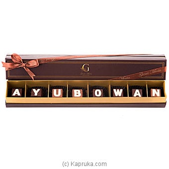 `ayubowan` 8 Piece Chocolate Box (GMC) Online at Kapruka | Product# chocolates00351