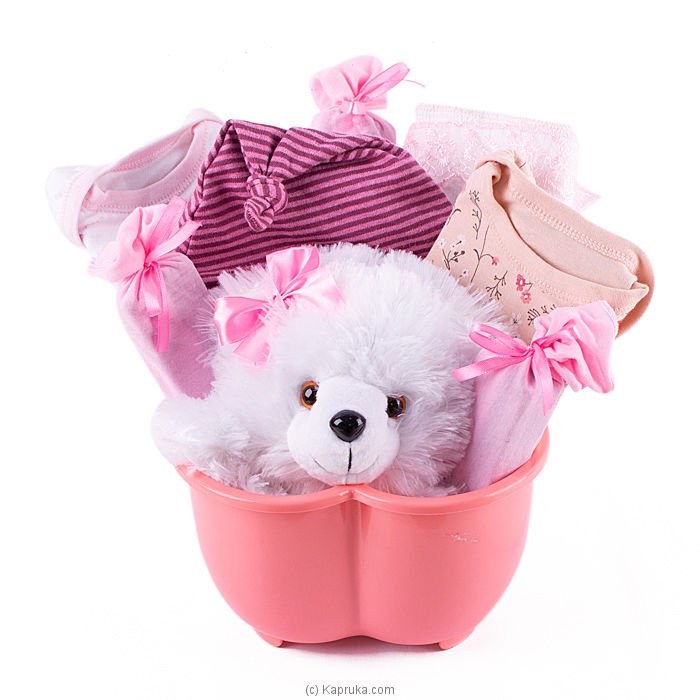 Adore Pink Gift Pack- Small Online at Kapruka | Product# babypack00181