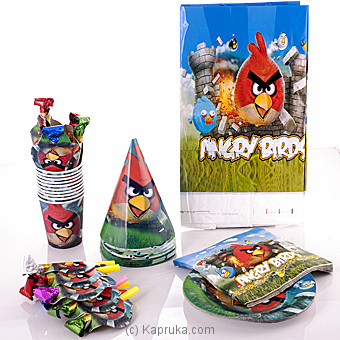 Angry Bird Party Pack Online at Kapruka | Product# partyP00108