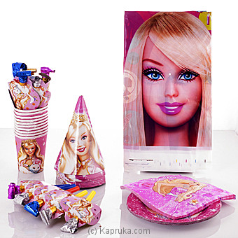 Barbie Party Pack Online at Kapruka | Product# partyP00102