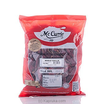 Mc Currie Whole Chilli 250g Online at Kapruka | Product# grocery00485