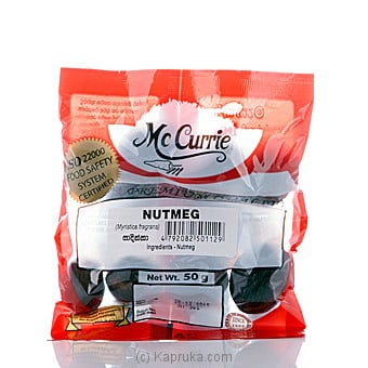 Mc Currie Nutmeg 50g Online at Kapruka | Product# grocery00478