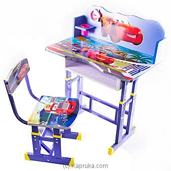 Lightning Mcqueen Kids Study Table Online at Kapruka | Product# childrenP0223