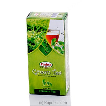 Fadna Green Tea Gotukola 20 Tea Bags Online at Kapruka | Product# grocery00663