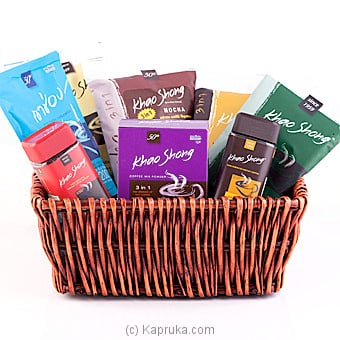 Khao Shong Agglomerated Instant Coffee Hamper Online at Kapruka | Product# cphamper0111