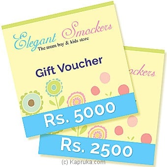 Elegant Smockers Rs 2500 Online at Kapruka | Product# giftV00Z109_TC1