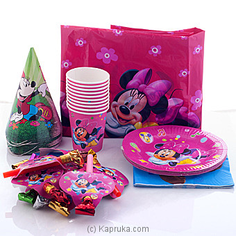 Minnie Mouse Party Pack Online at Kapruka | Product# partyP00111