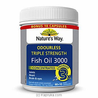 Triple Strength Fish Oil Online at Kapruka | Product# grocery00777